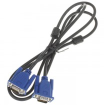 Lot of 5: AWM Style 20276 VW-1 VGA Cable Male to Male