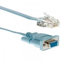 50PCS CISCO Rollover Console Command (72-3383-01) DB9 to RJ45 Cable