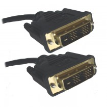 Lot of 50: Digital DVI-D (Dual Link) Male-Male 5 Meter Cable