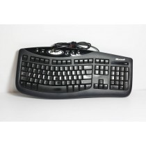 Microsoft KU-0459 Black Keyboard
