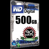 """Western Digital WD5000BPVT-00HXZT1 500GB 5400 RPM 2.5"""" Sata Hard Drive"""