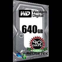 "Western Digital WD6400AAKS-41H2B0 640GB 7200RPM 3.5"" Sata Hard Drive ( With Apple Logo)"