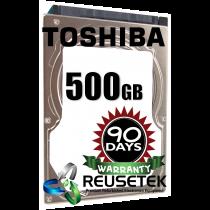 "Toshiba MK5056GSY 500GB 7200 RPM 2.5"" Sata Hard Drive"