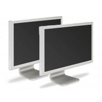 "Lot of 2 Apple A1081 (M9177LL/A) 20"" Cinema Display Monitor"