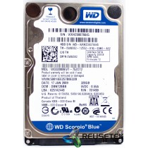 "Western Digital WD3200BEVT-75ZCT2 DCM: DBNT2BBB 320GB 2.5"" Laptop Sata Hard Drive"