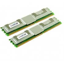 Crucial Ct25672AF667 4GB (2x2GB) PC2-5300F DDR2 ECC Server Memory