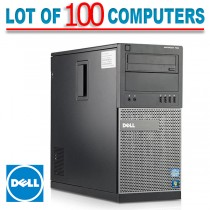 100 Dell Optiplex Computers Wholesale 790 iSeries 4GB PC Computers