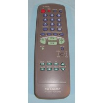 Sharp GA292S Refurbished Remote Control for TV/DVD/VCR