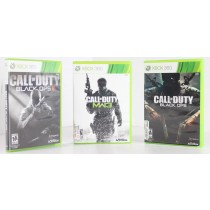 Call Of Duty Blacks Ops, Black Ops II, Modern Warfare 3 -Lot of 3