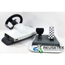 Microsoft WRW01 Xbox 360 Racing Wheel With Pedals Force Feedback